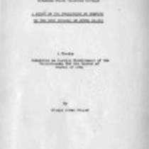 Study of the curriculum in Spanish in the high schools of seven states
