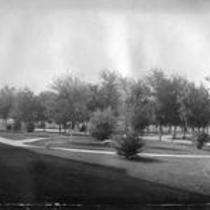 Irrigated landscape, State Normal School campus
