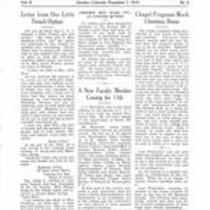 Volume 2, Number 6: November 7, 1919