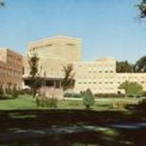 Frasier Hall, Colorado State College, Greeley, Colorado.  Circa 1957-1970