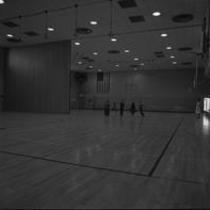 Bishop-Lehr Hall interior, gymnasium