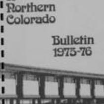 University of Northern Colorado bulletin, series 75,number 4: 1975-76 undergraduate catalog