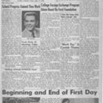 Fall edition : Number 1 : September 21, 1956