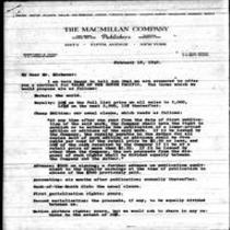 1946-02-08 Letter from Harold Latham to James A. Michener