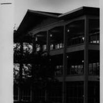 University Center exterior, south west side, ca. 1980s?