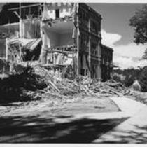 Cranford Hall demolition, 1972