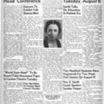 Summer edition : August 2, 1946