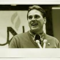 University of Northern Colorado football coach, Joe Glenn, 1989.