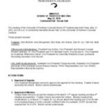 2010-05-21 - Board of Trustees meeting minutes