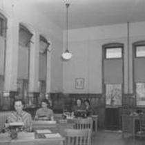 Cranford Hall, interior office