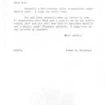 James A. Michener to Robert Vavra, September 16, 1968