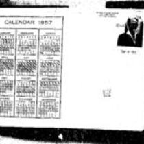 George Willard Frasier diaries, 1957