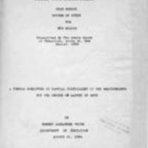 High school course of study for New Mexico: prescribed by the State Board of Education, Santa Fe, New Mexico, 1924