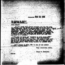 1946-06-13 Letter from James A. Michener to George W. Miller (Jiggs)