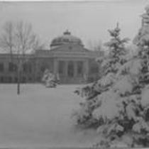 Carter Hall exterior, north entrance