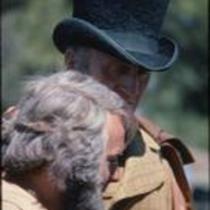 """""""Gentleman"""" John Kings and unidentified actor, Estes Park, Colorado, 1978"""