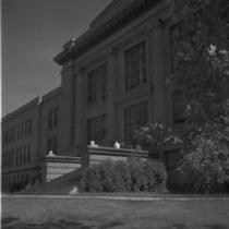 Kepner Hall, north entrance, 1967
